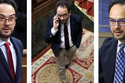 El 'traidor' Antonio Hernando, que quiso a Sánchez como padrino de su hija, sale ahora pitando antes de que le echen