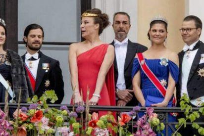 La atrevida prima de Victoria de Suecia que salió al balcón real sin bragas