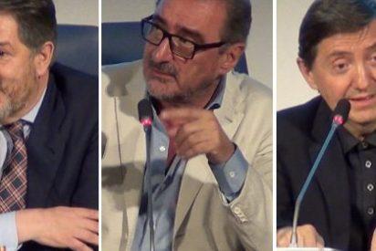 Carlos Herrera, Jiménez Losantos y Bieito Rubido pintan la cara a los periodistas 'progres' que están acomplejados con España