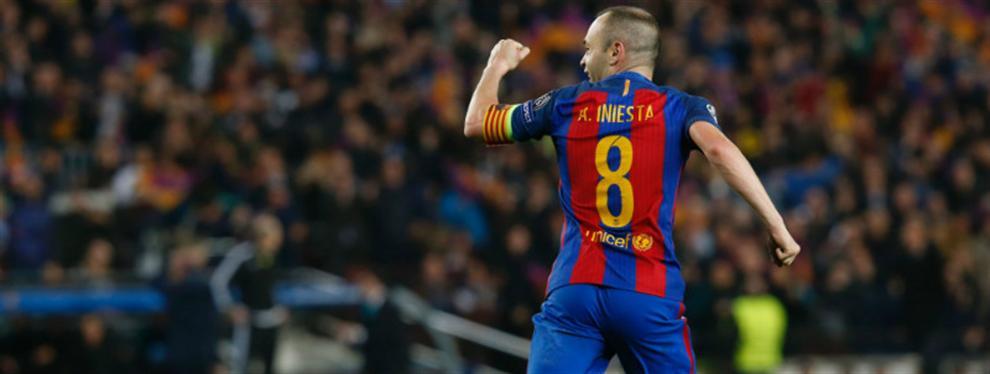 ¡Bombazo! El Barça piensa en un ex Real Madrid como recambio de Iniesta