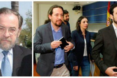 """Antonio Burgos se ríe del número de la cabra podemita: """"Es una micción de censura"""""""