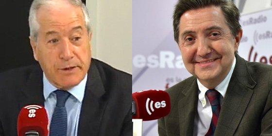 """El merengue Losantos y el culé Cacho se meten el dedo en el ojo por el fútbol: """"Debería darte vergüenza ser del Barça"""""""