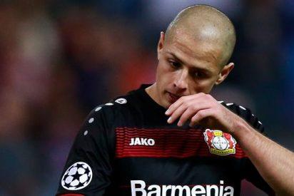 Cambio de mexicanos en el Bayer Leverkusen: Se marcha Chicharito Hernández y llega un compatriota