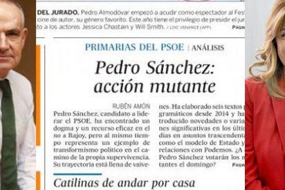 Caño agradece el galardón a 'La Sultana' y El País apuntilla al 'mutante' Sánchez en la recta final de las primarias