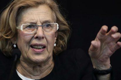 Carmena hace de anfitriona en Madrid del independentista Puigdemont