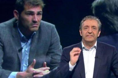Twitter: Iker Casillas le sacude la del pulpo a Josep Pedrerol 'Doña Rogelia'