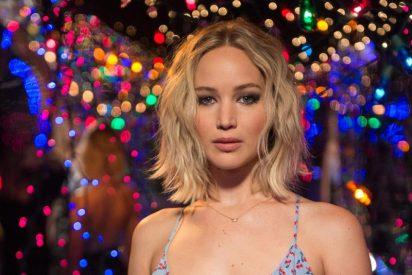 El vídeo de la sexy Jennifer Lawrence: borracha, semidesnuda y a cuatro patas en un club de striptease