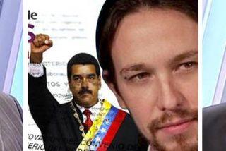 Naranjo y Pérez Henares 'fusilan' a los podemitas por ser más 'maduristas' que Maduro