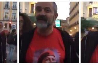 El de Podemos a la opositora venezolana:
