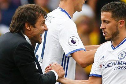 Conte revoluciona al Real Madrid: los dos cracks que pide para dejar ir a Hazard