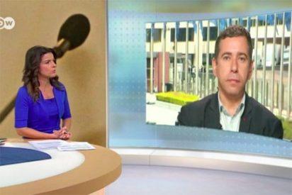 El sectario Javier Couso (IU) se lía a gritos con la presentadora alemana