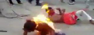 Venezuela: Los dos muertos de hambre linchados por una turba muy harta