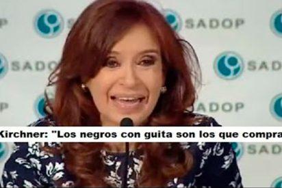 """Cristina Kirchner: """"Los negros con guita son los que compran"""""""