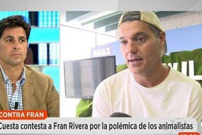 Intercambio de hostias catódicas entre Frank Cuesta y Fran Rivera