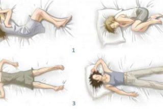 Sexo: Mira cómo duermes y sabrás cómo follas