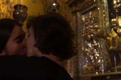 """No hubo """"escarnio"""" en el beso lésbico ante la Virgen de Montserrat"""
