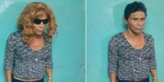 El preso que intentó escapar de una cárcel hondureña vestido de mujer