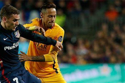 El mensaje de Griezmann a Neymar no ha sentado nada bien en el Atlético (y abre otra vía de agua)