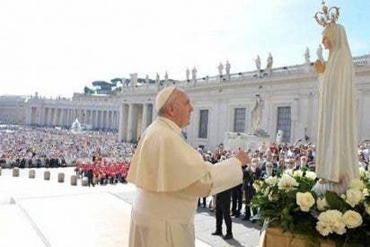 Francisco fue nombrado obispo un 13 de mayo