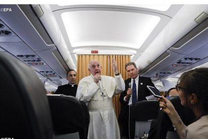 Texto íntegro de la rueda de prensa del Papa