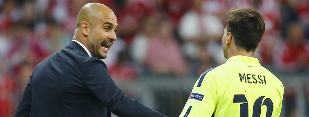 El tremendo enfado de Messi con la nueva 'jugarreta' de Guardiola al Barça