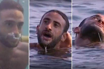 'Supervivientes': Susto tremendo tras el desmayo de Eliad Cohen en el agua