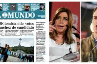El sucio juego de El Mundo con Susana Díaz a 7 días de las primarias