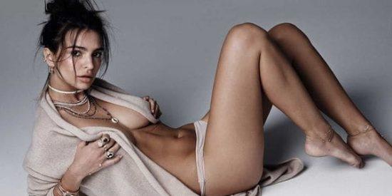El topless de Emily Ratajkowski que levanta los ánimos de sus fans