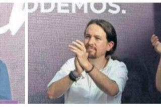 El 'pequeño Trotsky' de Podemos hinca la rodilla ante el 'matrimonio Ceaucescu' de Irene y Pablo