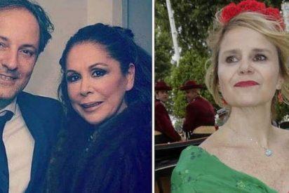 Eugenia Martínez de Irujo 'ilusionada' con el jefe de Isabel Pantoja