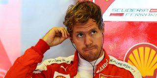 El piloto alemán Sebastian Vettel asusta en los libres del Gran Premio de Mónaco