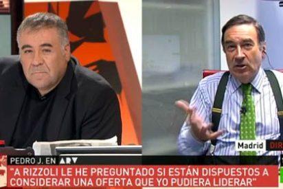 El enfermizo Pedrojota sigue obsesionado con meterle a Atresmedia y deja con el culo al aire a Ferreras