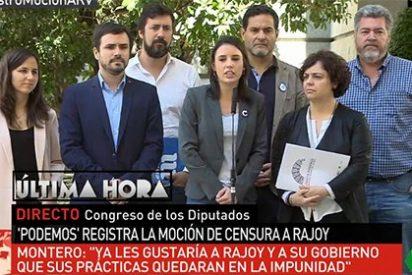 La 'Yoko novia' de Iglesias convierte la moción de censura al PP en un picnic donde sólo faltó la tortilla de patatas