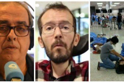 """""""El miserable de 'Echeminga' merecería que su minusvalía se la trataran en Venezuela"""""""