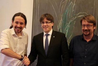 Desafío independentista catalán en el Ayuntamiento de Madrid