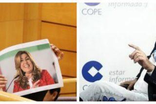 """Carlos Herrera dispara a ráfagas contra el """"perfecto inútil"""" y """"esa compañía de cretinos"""" que llamó """"gusana"""" a Díaz"""