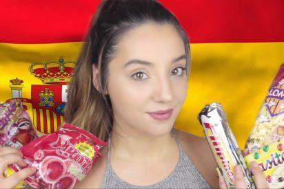 [VÍDEO] La youtuber inglesa que se mofa y pone nota a productos típicos españoles