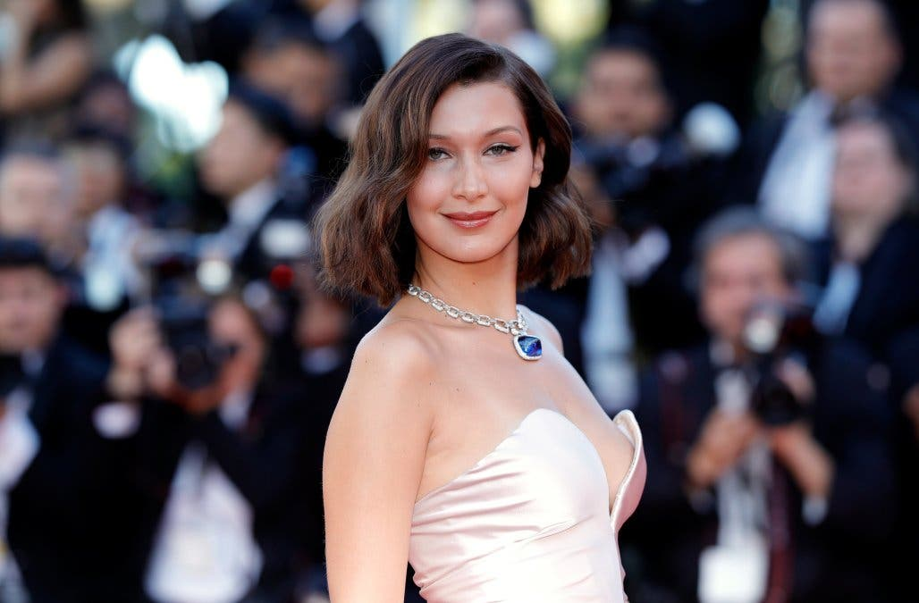Las indiscretas fotos de lo que enseñó de más Bella Hadid en el Festival de Cannes