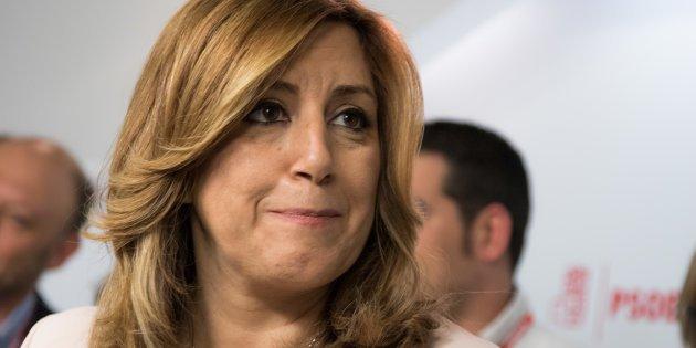 Arden las redes con el desopilante vídeo del hundimiento de Susana Díaz