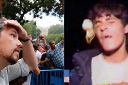 El huevazo a Iglesias 'resucita' y hace viral este descacharrante vídeo de Javier Cárdenas