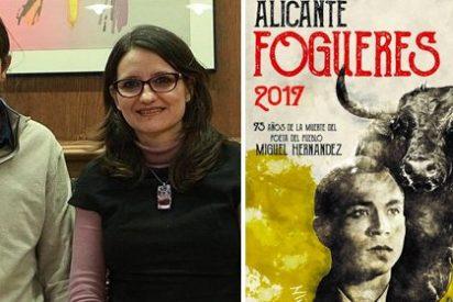 Así es la censura podemita: Guanyar y Compromís vetan la presencia del poeta Miguel Hernández en los carteles de la Feria taurina de Alicante