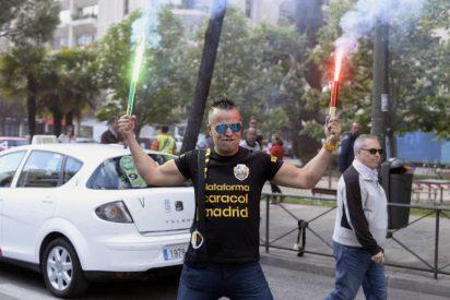 Los taxistas de toda España secundan masivamente la huelga contra Uber y Cabify