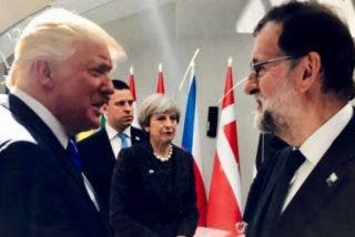 'Acontecimiento histórico planetario': Trump encuentra a Rajoy