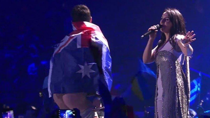 El pedazo de condena por enseñar el culo en Eurovisión