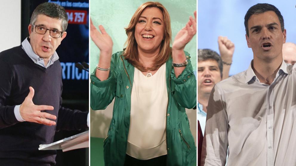 """Susana Díaz: """"Es la tercera vez que Pedro Sánchez está contento por ser segundo"""""""