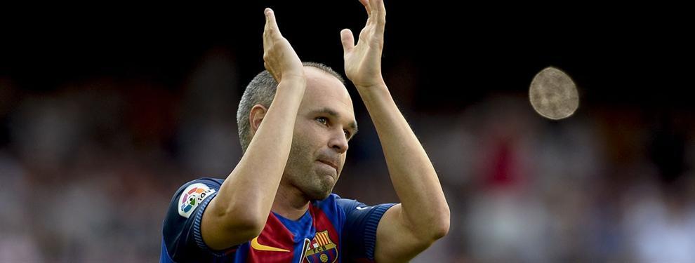 Iniesta lo deja claro: el factor que marcará su continuidad o no en el Barça