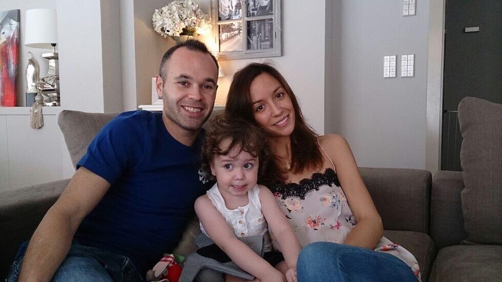 Andrés Iniesta es padre de nuevo y tiene ya tres hijos