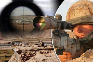 El francotirador del SAS que mata de un tiro en la garganta al pistolero yihadista ¡a 2.400 metros!