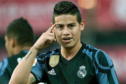 James Rodríguez encabeza un 'motín' tras el Granada que llega a oídos de Florentino Pérez