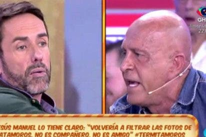'Sálvame': Una bronca entre Matamoros y Jesús Manuel casi llega a las manos